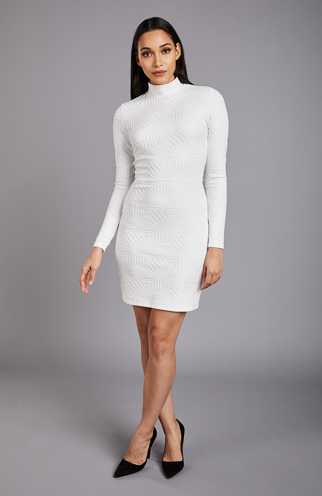 Instagrammable Mini Dress in White