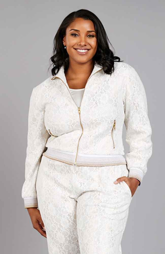 Serena GREAT Chantilly Lounge Jacket