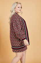 Load image into Gallery viewer, S-By-Serena-Serena-Great-Diamonds-Jacquard-Cardigan-Side