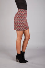Load image into Gallery viewer, Diamonds Jacquard Mini Skirt