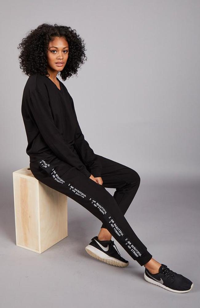Logo Tape Trimmed Lounge Pant