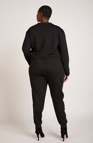 Serena GREAT Logo Tape Trimmed Lounge Pant