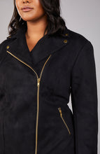 Load image into Gallery viewer, Serena GREAT Cropped Moto Jacket