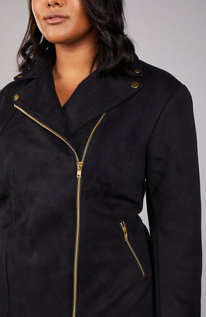 Serena GREAT Cropped Moto Jacket