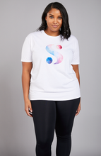 Load image into Gallery viewer, S-By-Serena-Serena-Great-What-Is-Your-S-Watercolor-Tee-Front