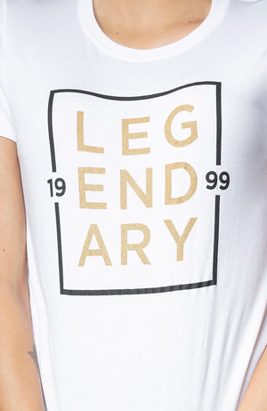 Legendary 1999 Unisex Tee in White