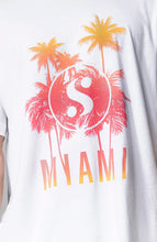 Load image into Gallery viewer, s-by-serena-miami-sunset-unisex-tee-white-detail
