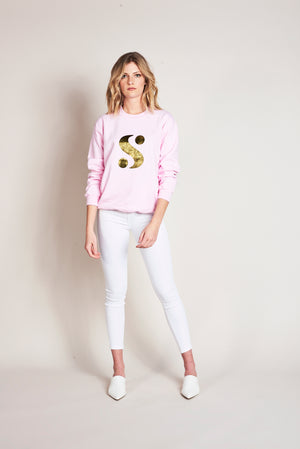 Signature S Lounge Top in Pink