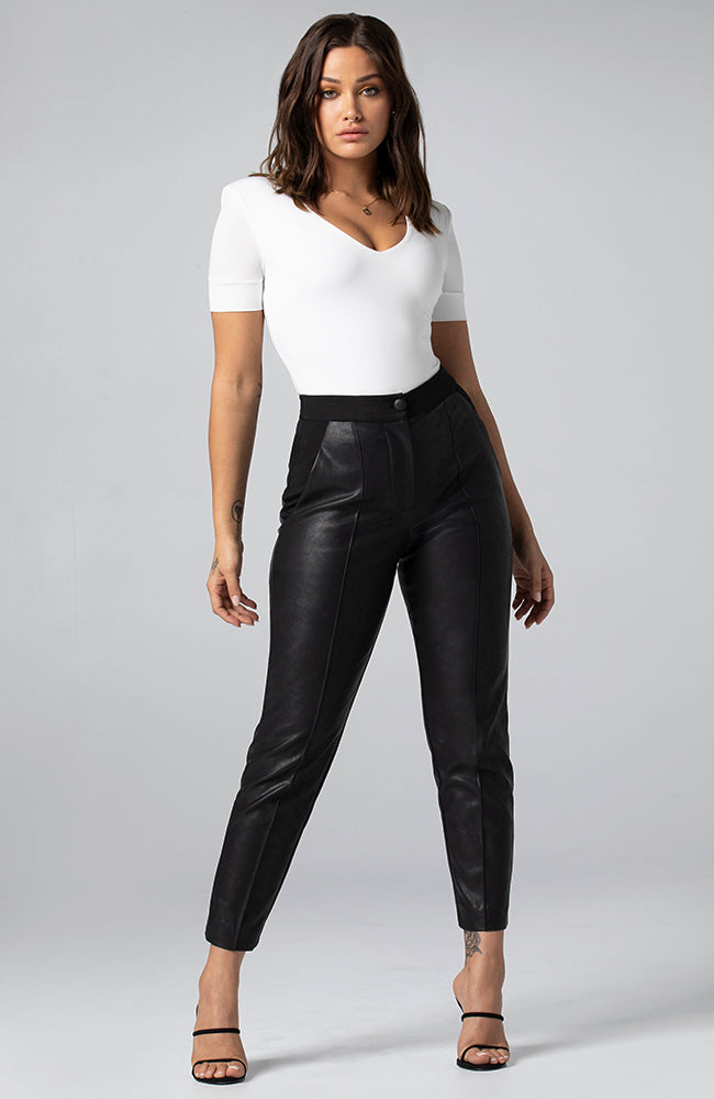 Sasha Vegan Leather Pant