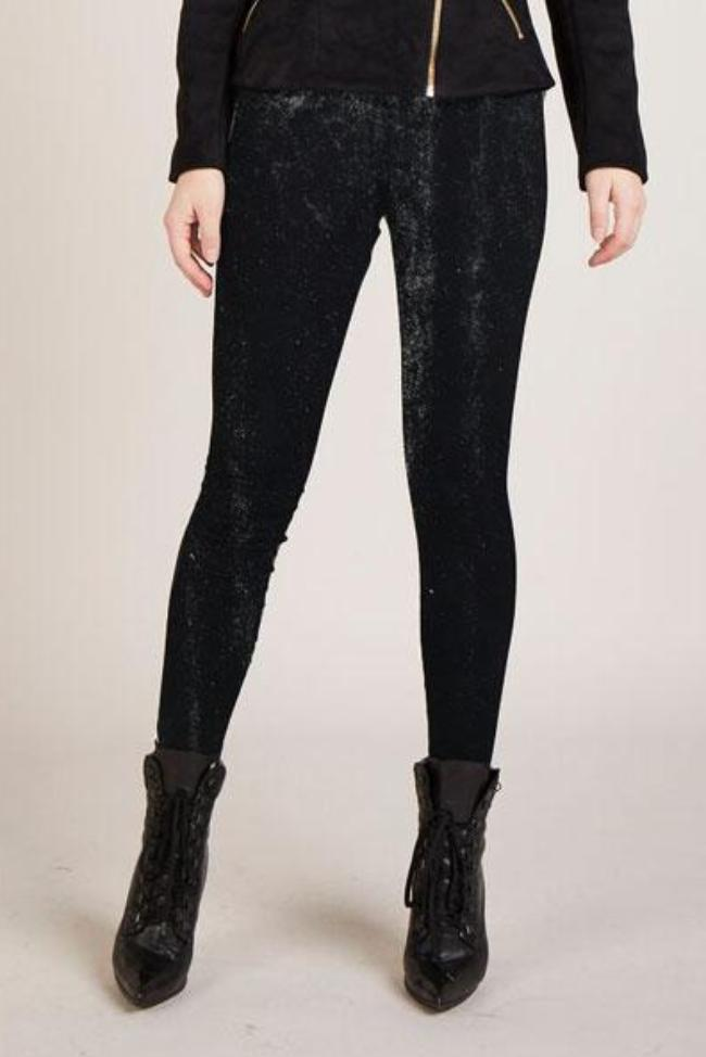Tailored Legging in Black