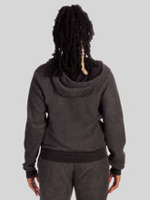 Load image into Gallery viewer, Rise To Every Challenge Zip Hoodie in Black