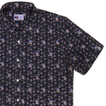"Bluto ""All Brawn"" Short Sleeve Button Down Shirt"