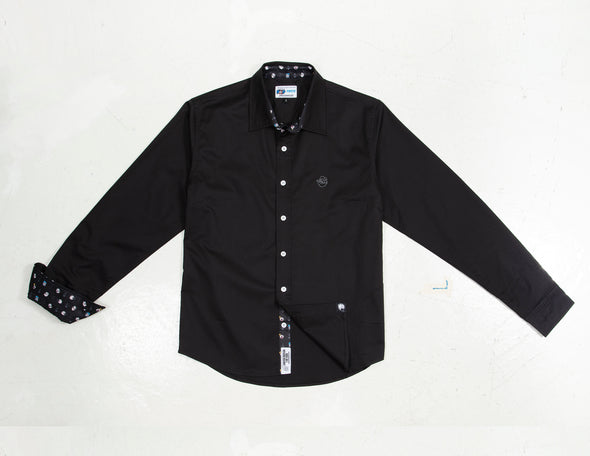 Popeye Long Sleeve Button Up Shirt