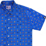 "Stan Lee ""Nuff Said"" Short Sleeve Button Down Shirt"