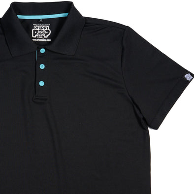 POLOS WITH A POP! - BLACK