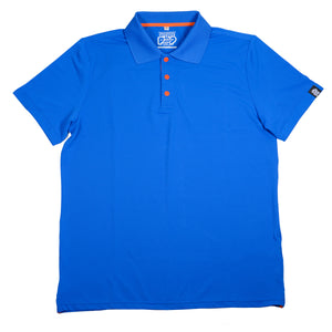 POLO'S WITH A POP! - ROYAL BLUE