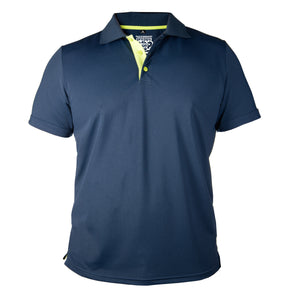 POLOS WITH A POP! - NAVY
