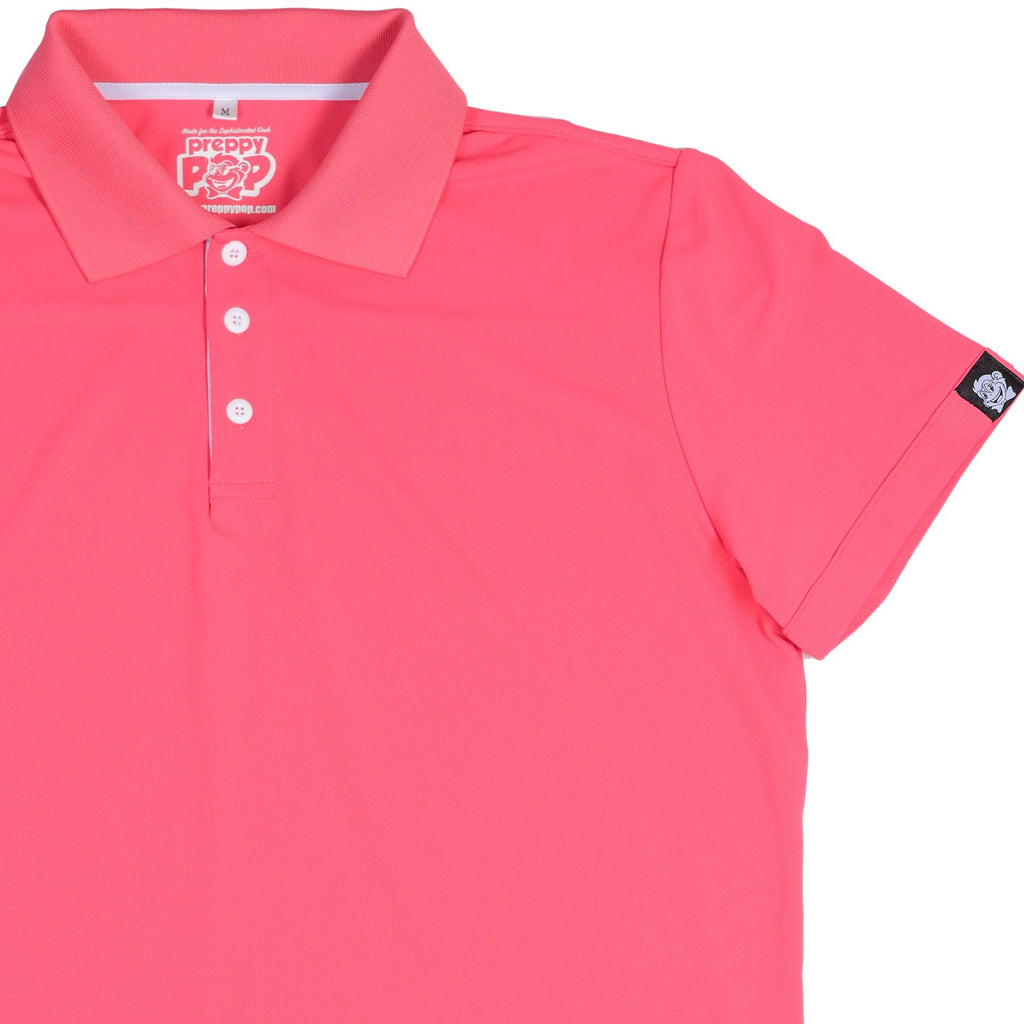 POLOS WITH A POP! - PINK