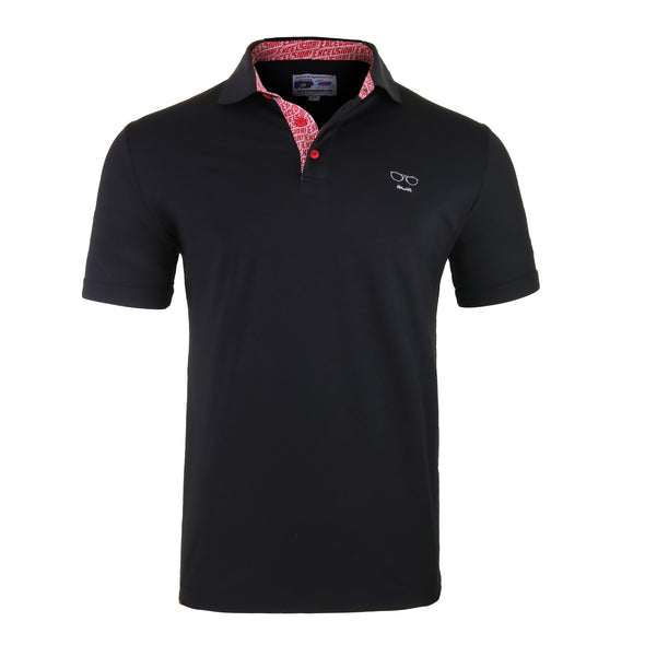 Stan Lee Signature Polo - Black