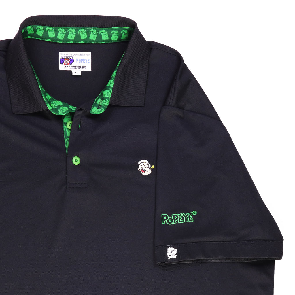 Popeye Signature Polo - Black