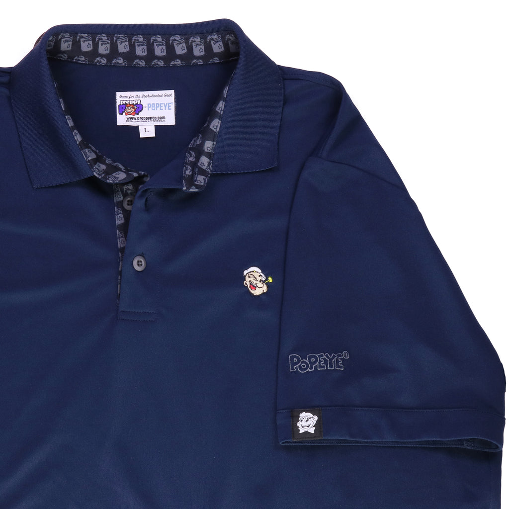 Popeye Signature Polo - Navy