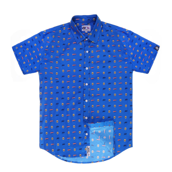 "Stan Lee ""Nuff Said"" Short Sleeve Button Up Shirt"