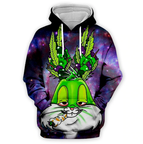 Budz Bunny Exclusive Limited Small Batch Hoodie
