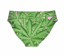 Load image into Gallery viewer, Love & Peace Leaf Nylon Briefs
