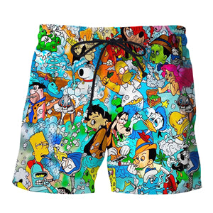 All Character Super Exclusive Shorts