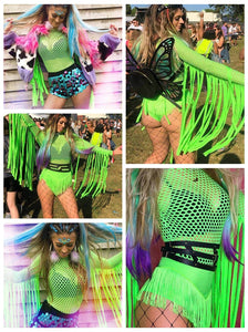 Green Queen Hippie Bodysuit