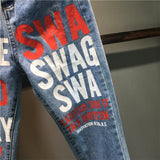 Smoke Weed Every Day Swag Jeans