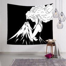 Load image into Gallery viewer, I Am the Volcano Tapestry, Sofa Cover or Video Backdrop