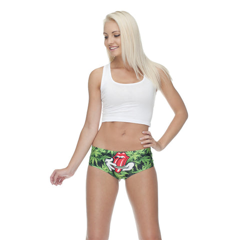Low Rise Roll It Up Leaf Briefs