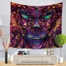 Load image into Gallery viewer, Happyface Trippy Tapestry