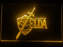 Load image into Gallery viewer, Zelda Low Energy Game Room Night Illumination