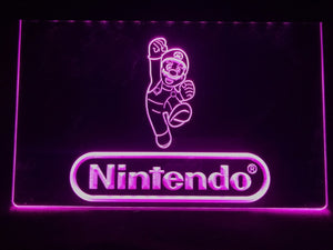 Nintendo Low Energy Game Room Night Illumination
