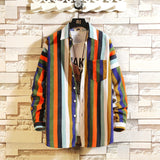 Colorblock Hipster Shirt