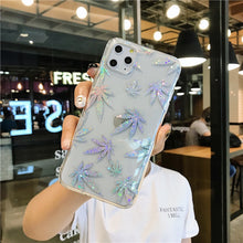 Load image into Gallery viewer, Sparkle Leaf Phone Case