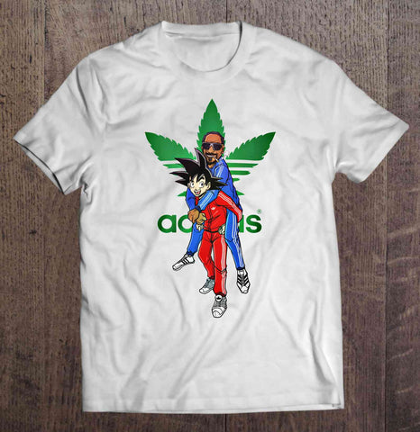 Snoop Saiyan Tshirt (Available in Men and Women's Styles)