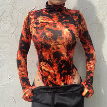 Load image into Gallery viewer, Flame-On Bodysuit
