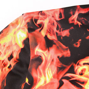 Flame-On Bodysuit