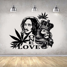 Load image into Gallery viewer, Marley Lion Extra Large Wall Vinyl