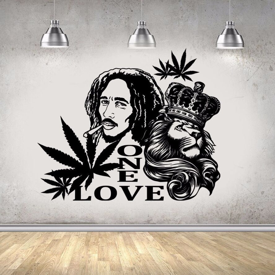 Marley Lion Extra Large Wall Vinyl