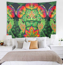 Load image into Gallery viewer, Leaf God Museum Gallery Wall Tapestry