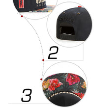 Load image into Gallery viewer, Amsterdam Fuckin' City Floral Leaf Brim Collector's Snapback