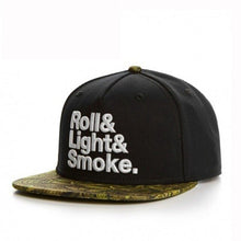 Load image into Gallery viewer, Roll It, Light It, Smoke It Snapback