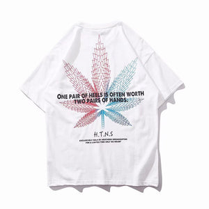 Heathens Awareness Leaf Tshirt