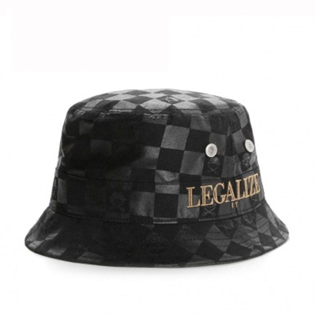 Legalize It Checkered Hat