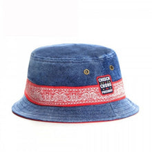 Load image into Gallery viewer, Cheech & Chong For President Vintage Denim Bucket Hat