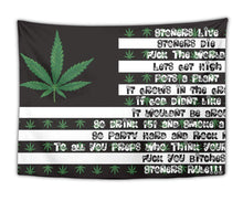 Load image into Gallery viewer, Stoner's Extra Large Flag Tapestry